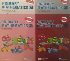 Singapore Math® Primary Mathematics 3A and 3B Textbook / Workbook Set US Ed. New
