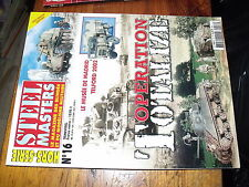 * Steel Masters HS n°16 Operation Totalize Austin K5 4x4 Humber Scout Car