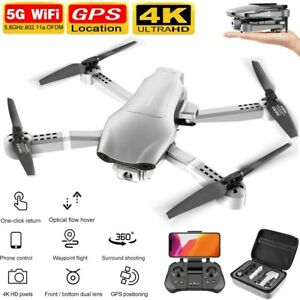 Professional F3 Drones GPS 5G WiFi FPV 4K/1080P HD Wide Angle Camera Foldable US