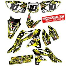1999 2000 RM 125 / 250 GRAPHICS KIT SUZUKI RM125 / RM250 MOTOCROSS BIKE DECALS