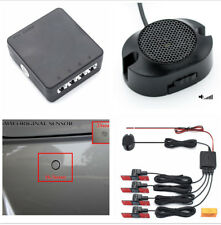 Anti-freeze Rain Proof Car Parking Reverse Radar Alarm System Black Flat Sensor