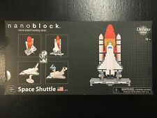 Nanoblock Deluxe Space Shuttle NB-017 Micro Block Building Set - Factory Sealed