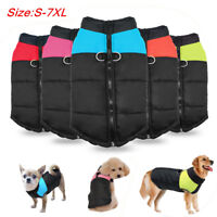 Waterproof Dog Clothes Winter Warm Pet Jacket Coat Dog Apparel S M L 2XL 4XL 6XL