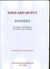 Konzert pour basson et orchestre (reduction piano) en mi b majeur / für Fagot...