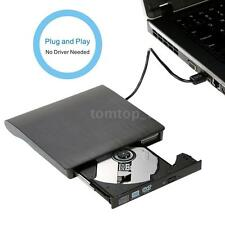 Black USB 3.0 DVD-RW External DVD Drive Burner for Window2K/XP/2003/Vista/7 D5BQ