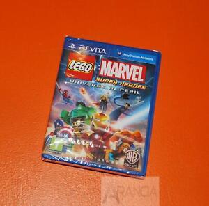 Lego Marvel Super Heroes Universe in Peril PS Vita Brand New