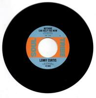 """LENNY CURTIS Nothing Can Help You Now  NORTHERN SOUL 45 (SOUL TRIBE) 7"""" 60s"""