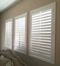 Painted Shutters, Custom Size, Real Wood