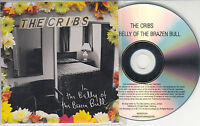 THE CRIBS In The Belly Of The Brazen Bull 2012 UK numbered 14-track promo CD