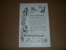 1958 THE DAILY TELEGRAPH NEWSPAPER ADVERT