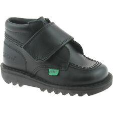 garçons kickers noir chaussures d'école pointure UK 7 UE 24 kilo HI kf0000420
