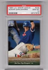 1995 U.D. Minor League #205 - NOMAR GARCIAPARRA - PSA 10 Gem Mint