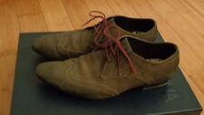 PAUL SMITH Chaussures Homme en Daim Brun-Kaki Taille 8 UK -42 Fr