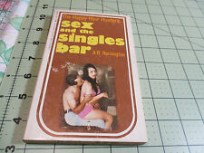 SEX AND THE SINGLES BAR BY A.R. REMINGTON     RARE BARCLAY HOUSE EROTIC SLEAZE