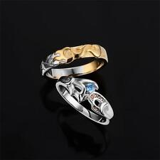League of Legends LOL 925 Sterling Silver Ahri And Wukong Couple Rings Gift New