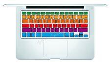 Rainbow Macbook Pro Air Keyboard Decal Sticker Skin 13 15 17 inch Wireless CS