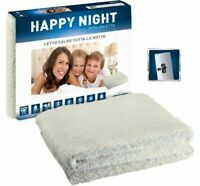 Scaldaletto scaldasonno Imetec termocoperta Happy Night Singolo coperta 1 piazza