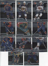 01/02 BAP Signature Series Atlanta Thrashers 11 cards Stefan Kovalchuk RC +