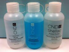 CND Scrub Fresh + Nourishing Remover + ISOPROPYL Alcohol 99% 3X 2oz/59ml On Sale