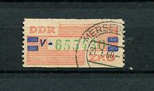 DDR Dienst B - Nr. 27V  gestempelt  (D31)
