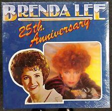 Brenda Lee 25th Anniversary 1981 SEALED HOLLAND GATEFOLD 2 LP SET