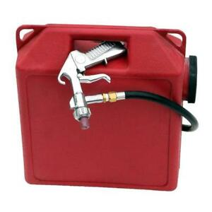 Air Powered Portable Sandblaster 2.5 gallon - Sand Blaster kit