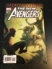 """The New Avengers#41 Incredible Condition 9.4(2008)""""Secret Invasion""""Billy Tan Art"""