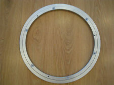 "*OFFER* 24"" 600MM LAZY SUSAN 12MM THICKNESS ROTATING ALUMINIUM TURNTABLE BEARING"