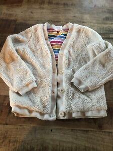Hanna Andersson Marshmallow Sz 140 Or 10 Cream Jacket Sweater