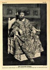 Fedor Iwanowitsch Schaljapin der berühmte russische Opern-Sänger XXL von 1913