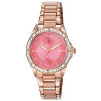 Citizen FD3003-58X Lady's POV Pink Dial Swarovski Crystals Watch