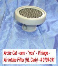 """Arctic Cat Carburetor Intake Air Filter Ass'y # 0109-191 - """"nos"""" 1970 Panther"""