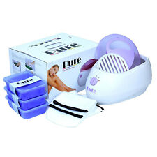 PURE PARAFFIN WAX HEATER SPA BATH LAVENDER KIT - FREE DELIVERY