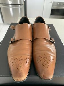 Kenneth Cole Men's Brown Dress Shoes Size 8.5