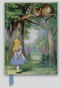 Flametree John Tenniel Alice and the Cheshire Cat Journal (Hardcover, Foil)