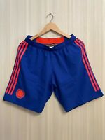 5+/5 AUTHENTIC Colombia team 2018/2019 away Size M Adidas shorts football soccer