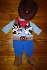NWT Infant Boys Halloween Costume Size 12 Months Cowboy Blue Sheriff