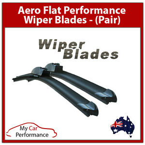 HOOK Aero Wiper Blades Pair of 24inch (600mm) & 16inch (400mm)