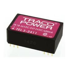 1 x TRACOPOWER Isolated DC-DC Converter TEL 3-2411, Vin 18-36V dc, Vout 5V dc