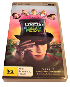 Charlie And The Chocolate Factory UMD VIDEO Sony PSP PAL