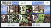 Netherlands 2018 MNH My Vegetable Garden 6v M/S Vegetables Plants Nature Stamps