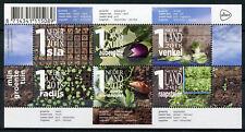 Netherlands 2018 MNH My Vegetable Garden 6v M/S Vegetables Plants Nature Stamps
