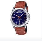 Casio MTP-1370L-2A Brown Leather Strap Watch