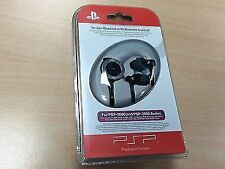 Official Sony PSP In-ear Headset With Remote Control