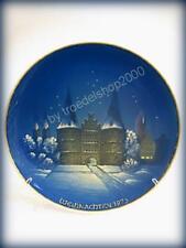 3993) Rosenthal Porzellan Weihnachtsteller Teller LÜBECK 1973 G. Küspert 21,5cm