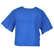 blaues T-Shirt Fleece bei MORDEX