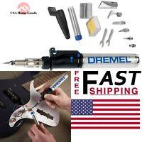 Dremel VersaTip Cordless Gas Welding Soldering Iron Torch Kit Flame Lock On Tool