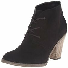 Women's MIA Shawna Black High Heel Bootie BOOTS Shoes 11