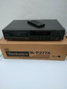Technics SL-P277A Stereo Compact Disc CD Player HiFi Separate & Remote. Working.