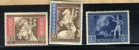 1942 German WW2⚔️ Third Reich  European Postal Congress Vienna stamp Set MVLH